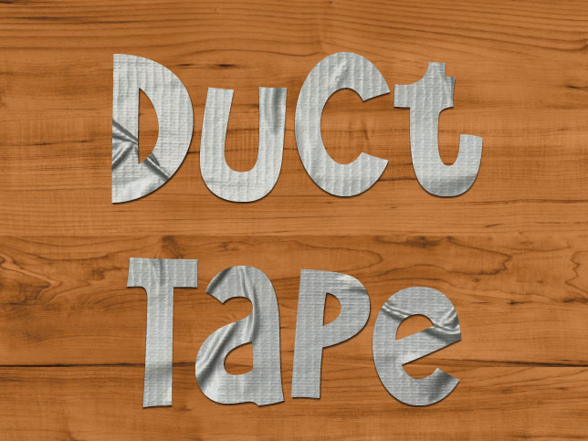 InDesign FX: Duct Tape