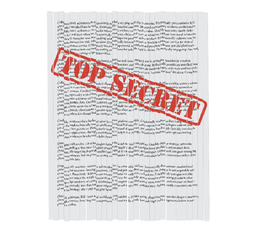 InDesign FX: Shredding Documents