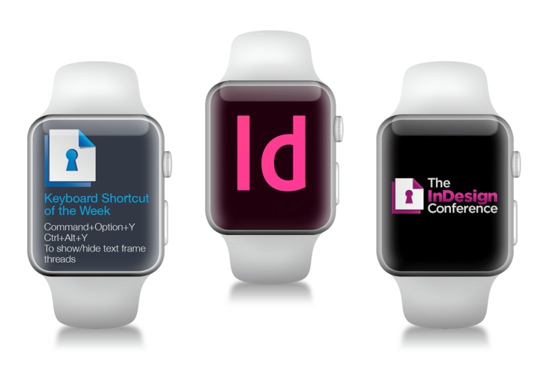 The InDesign Apple Watch Effect