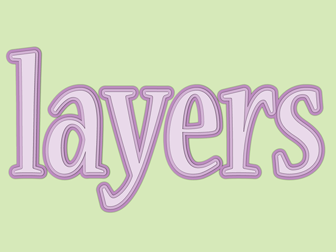 InDesign FX: Layered Text